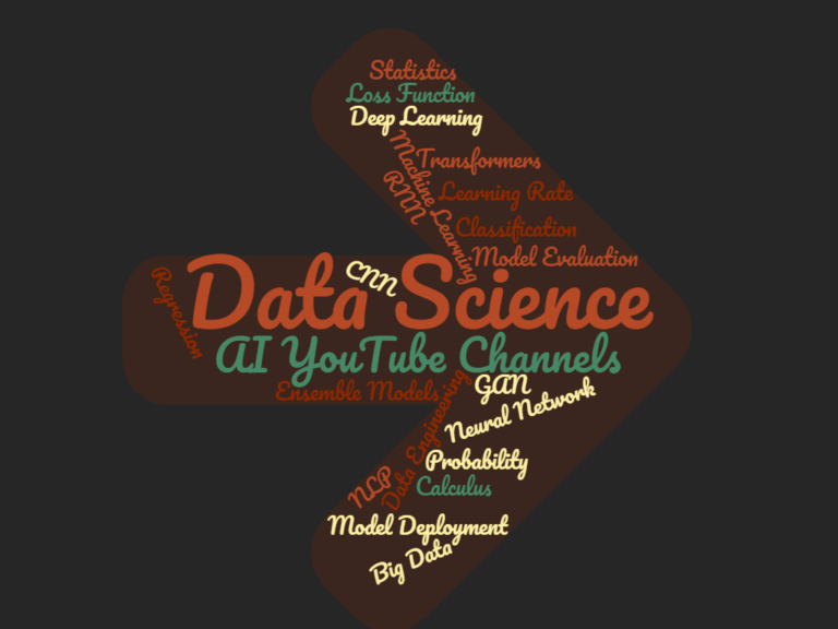 Best Youtube Channels to Learn Data Science